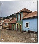 forgotten village Totora Acrylic Print