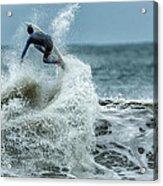 Gulf Coast Surfing Acrylic Print