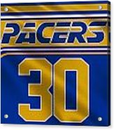 Indiana Pacers Uniform Acrylic Print