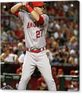 Los Angeles Angels Of Anaheim V Arizona 8 Acrylic Print