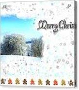 Christmas Card 24 Acrylic Print