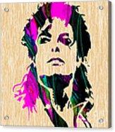 Michael Jackson Painting Acrylic Print