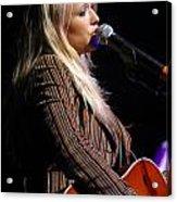 Miranda Lambert Acrylic Print