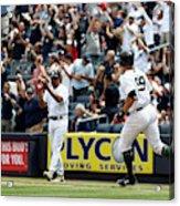 Oakland Athletics v New York Yankees Acrylic Print