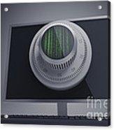 Online Security Acrylic Print