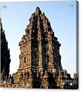 Prambanan Temple In Indonesia Acrylic Print
