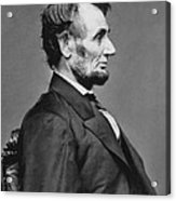 President Abraham Lincoln Acrylic Print