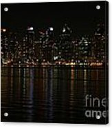 San Diego Skyline Night Acrylic Print