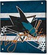 San Jose Sharks Acrylic Print