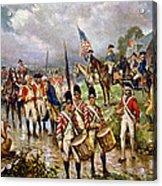 Saratoga: Surrender, 1777 Acrylic Print