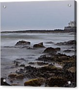 St Marys Lighthouse Acrylic Print