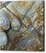 Stones From Verzasca Valley Acrylic Print