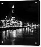 The Shard And Southbank London Acrylic Print