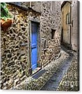Tight Alley Acrylic Print