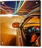 Traveling At Speed Of Light Acrylic Print