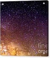 Under The Milky Way Acrylic Print