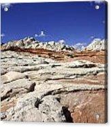 White Pocket Utah Landscape Acrylic Print