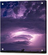 Wicked Good Nebraska Supercell Acrylic Print