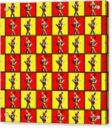 84 Zebras Acrylic Print