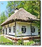 A Typical Ukrainian Antique House Acrylic Print