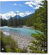 853p Bow River Canada Acrylic Print