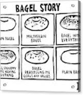 New Yorker January 28th, 2008 Acrylic Print
