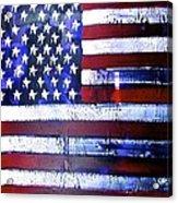 9-11 Flag Acrylic Print