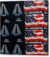 9/11 Memorial For Sale Acrylic Print