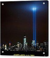 9/11 Tribute Acrylic Print