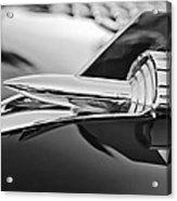 1957 Chevrolet Belair Hood Ornament Acrylic Print