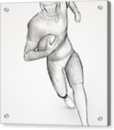 American Football Player Acrylic Print