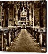 Basilica Of Saint Mary Acrylic Print