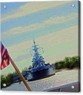 Battleship North Carolina Acrylic Print