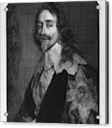 Charles I (1600-1649) Acrylic Print