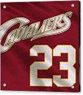 Cleveland Cavaliers Uniform Acrylic Print