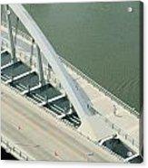 Fx1l-878 Main Street Bridge Columbus Ohio Photo Acrylic Print