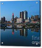 Fx2l-508 Columbus Ohio Skyline Photo Acrylic Print