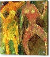 Dance Dance Dance Acrylic Print