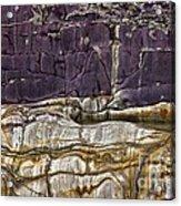 Devonian Slates Acrylic Print