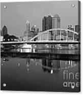 Downtown Skyline Of Columbus Ohio Acrylic Print