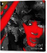 Empires Naomi Campbell Camilla Acrylic Print