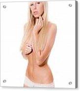 Erotic Nude Acrylic Print