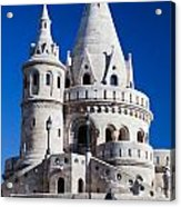 Fisherman's Bastion In Budapest Acrylic Print