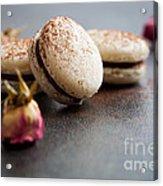 French Macaroons Acrylic Print