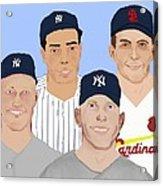 9-inning Legends Acrylic Print