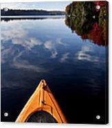 Lake In Autumn Acrylic Print