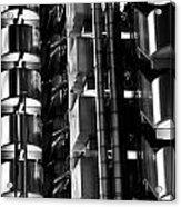 Lloyd's Building London Abstract  Acrylic Print