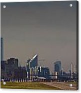 London City Airport Acrylic Print
