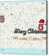 Christmas Card 29 Acrylic Print