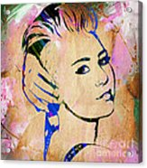 Miley Cyrus Collection Acrylic Print